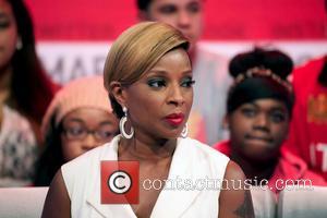 Mary J Blige - Mary J Blige On 106 & Park TV Show New York City USA Monday 28th January...