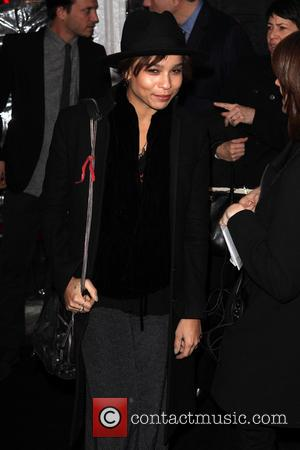 Zoe Kravitz - Bullet to the Head Premiere New York City New York  United States Tuesday 29th January 2013