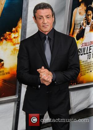 Sylvester Stallone - New York premiere of 'Bullet to the...