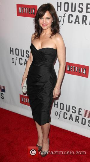 Carla Gugino - New York Premiere of 'House Of Cards' New York City NY United States Wednesday 30th January 2013