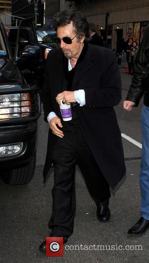 Al Pacino - Al Pacino arrives at the Ed Sullivan Theater New York City New York  United States Thursday...