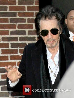 Al Pacino - Celebrities at the Ed Sullivan Theater New York NY United States Thursday 31st January 2013