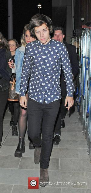 Harry Styles - Harry Styles enjoys a night out