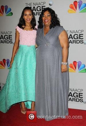 Kerry Washington and Shonda Rhimes - 44th NAACP Image Awards - PressRoom Los Angeles California USA Friday 1st February 2013