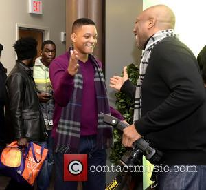 Will Smith - Sister Souljah And Will Smith Philadelphia Pennsylvania  United States Saturday 2nd February 2013