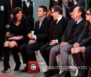 Grace Hightower, A Guest, Director David O. Russell and And Billy Crystal