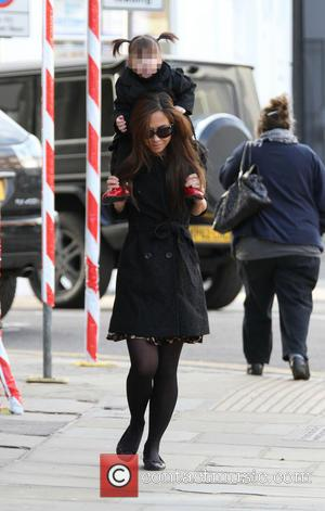 Myleene Klass and Hero Harper Quinn - Myleene Klass out and about with her daughter Hero London United States Monday...