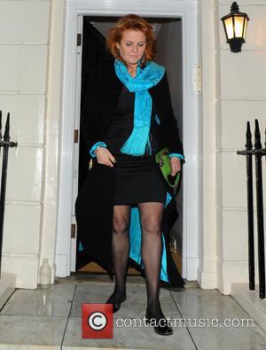 Sarah Ferguson and Duchess of York - Celebrities leave China Tang restaurant London United Kingdom Monday 4th February 2013