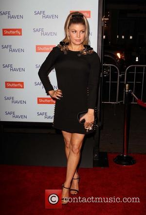 Stacy -Fergie- Ferguson - Premiere Of Relativity Media's 'Safe Haven' Hollywood California United States Tuesday 5th February 2013