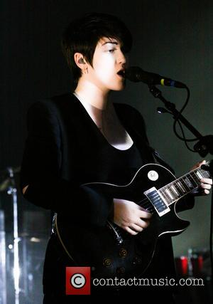 Romy Madley Croft - The XX Performing Live  Miami Beach Florida United States Tuesday 5th February 2013