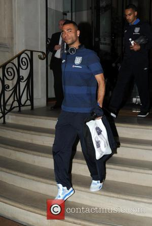 Ashley Cole - England Football Team seen  leaving their...