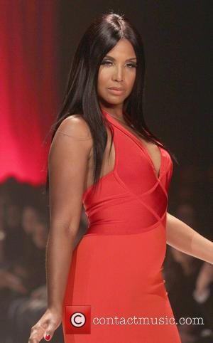 Toni Braxton - The Red Dress Collection Event