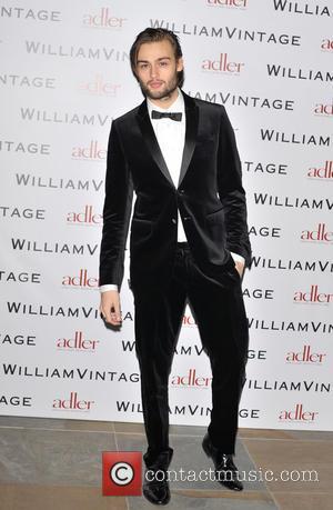 Douglas Booth - BAFTAs: WilliamVintage dinner London United Kingdom Friday 8th February 2013