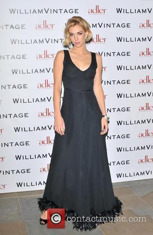 Vanessa Kirby - BAFTAs: WilliamVintage dinner London United Kingdom Friday 8th February 2013
