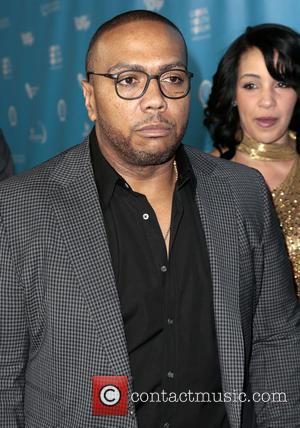Timothy Mosley, aka Timbaland and wife Monique Idlett - mPowering Action Los Angeles California United States Friday 8th February 2013