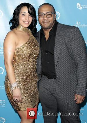 Timothy Mosley, aka Timbaland and wife Monique Mosley - mPowering Action Los Angeles California United States Friday 8th February 2013