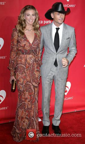 Faith Hill and Tim McGraw - MusiCares Person of the Year Los Angeles California United States Friday 8th February 2013