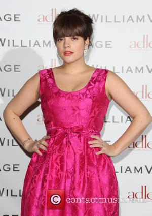 Lily Allen - BAFTAs: WilliamVintage dinner