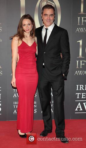 Kerry Condon and James Nesbitt - Irish Film and Television Awards 2013 at the Convention Centre Dublin- Dublin Ireland Saturday...