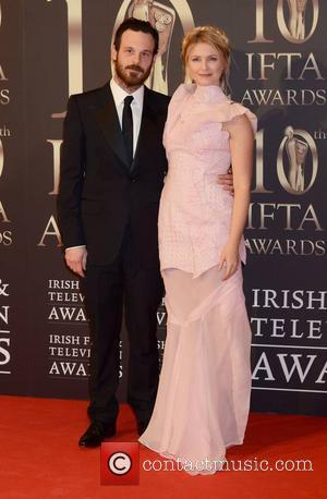 Scoot McNairy and Whitney Able - Guests attend the 2013 IFTA Awards at The Convention Centre Dublin Ireland Saturday 9th...