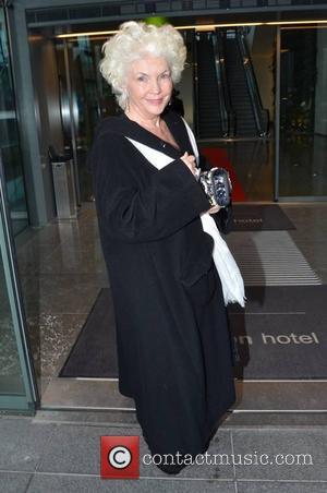 Fionnula Flanagan - Guests leave the Gibson Hotel Dublin Ireland Saturday 9th February 2013