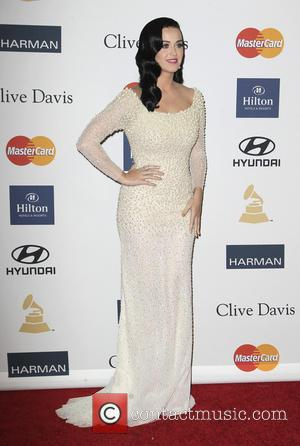 Katie Perry - Clive Davis 2013 Pre-Grammy Gala Los Angeles California United States Saturday 9th February 2013