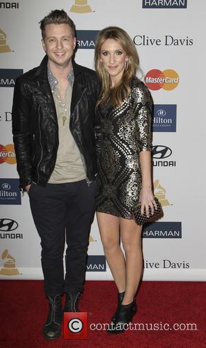 Ryan Tedder and Genevieve Tedder - Clive Davis 2013 Pre-Grammy Gala Los Angeles California USA Saturday 9th February 2013