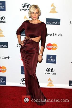 Yolanda Hadid Foster - Clive Davis & The Recording Academy's 2013 Pre-Grammy Gala Los Angeles California United States Saturday 9th...