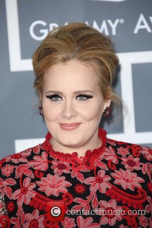 Adele - 55th Annual GRAMMY Awards at Staples Center - Arrivals at Grammy Awards, Staples Center - Los Angeles, CA,...