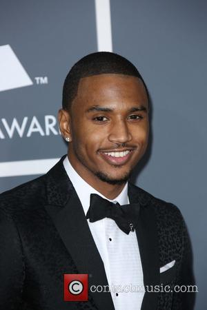 Trey Songz - 55th Annual GRAMMY Awards at Staples Center - Arrivals at Grammy Awards, Staples Center - Los Angeles,...