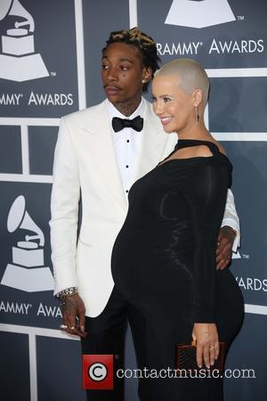 Wiz Khalifa and Amber Rose - 55th Annual GRAMMY Awards at Staples Center - Arrivals at Grammy Awards, Staples Center...
