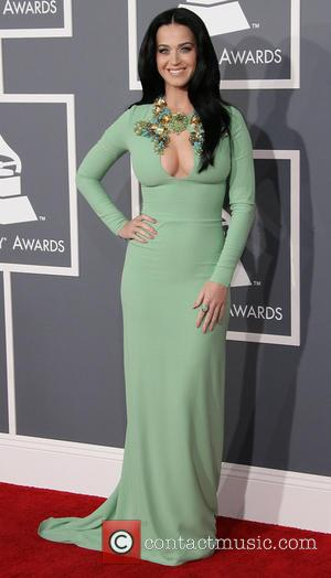 Katy Perry Ignores Grammys Dress Code In Flesh Baring Dress (Pictures)