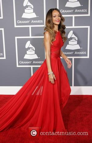 Rihanna - 55th Annual GRAMMY Awards Los Angeles California United States Sunday 10th February 2013