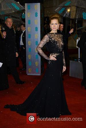 Amy Adams - Bafta Arrivals at British Academy Film Awards - London, United Kingdom - Sunday 10th February 2013