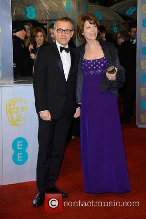 Christoph Waltz and Judith Waltz - Bafta Arrivals at British Academy Film Awards - London, United Kingdom - Sunday 10th...