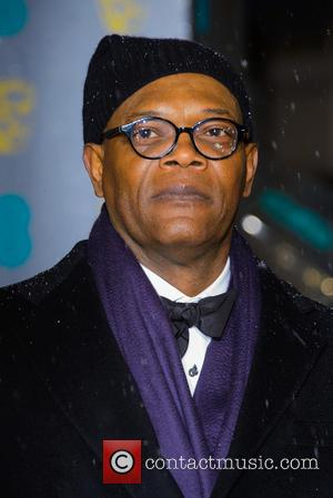 Samuel L Jackson - Bafta Arrivals at British Academy Film Awards - London, United Kingdom - Sunday 10th February 2013