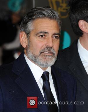 George Clooney - Bafta Arrivals London United Kingdom Sunday 10th February 2013