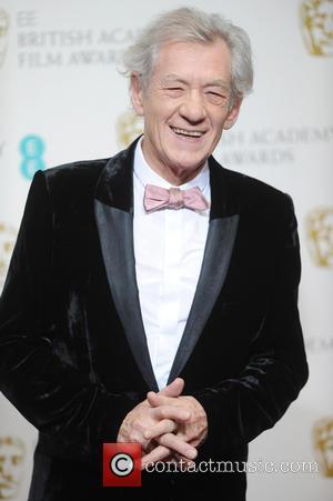 Ian McKellen - BAFTAS Pressroom