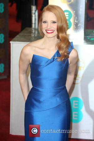 Jessica Chastain - The 2013 EE British Academy Film Awards (BAFTA'S) London United Kingdom Sunday 10th February 2013
