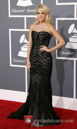 Carrie Underwood Lights Up The Night In Stunning Gown At The Grammys
