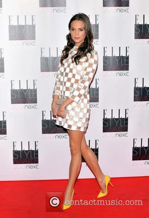Alicia Vikander - Elle Style Awards - London , United Kingdom - Monday 11th February 2013