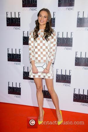 Alicia Vikander - Elle Style Awards - London, United Kingdom - Monday 11th February 2013
