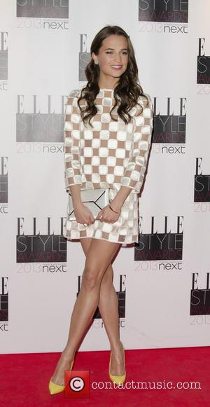 Alicia Vikander - The Elle Style Awards 2013 - London, United Kingdom - Monday 11th February 2013