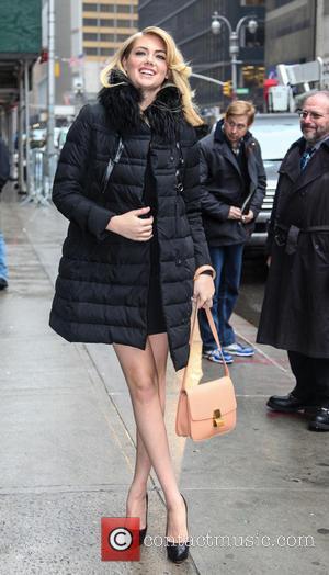 Kate Upton - Swimwear Models on Letterman