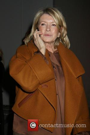 Martha Stewart - New York Fashion Week Dennis Basso - Front Row at New York Fashion Week - New York...
