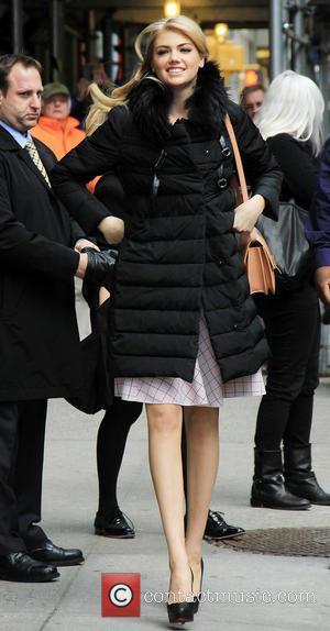 Kate Upton - Late Show Celebs