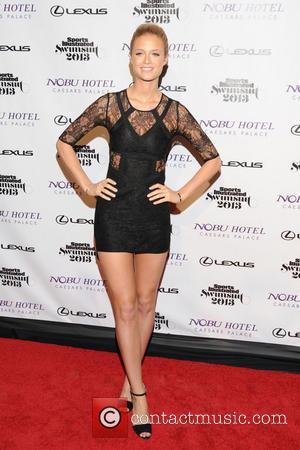 Kate Bock - Sports Illustrated 2013 Swimsuit Models at Caesars Palace Resort at Caesars Palace - Las Vegas, Nevada, United...
