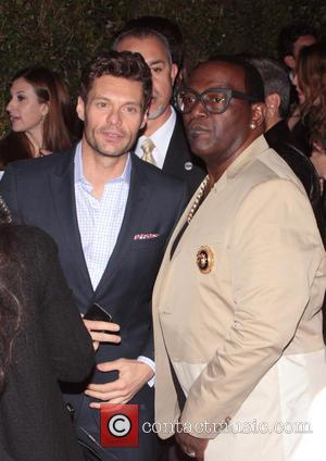 Ryan Seacrest and Randy Jackson - Topshop Topman LA opening party - West Hollywood, California, United States - Wednesday 13th...