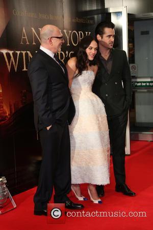 Colin Farrell, Akiva Goldsman, Jessica Brown-Findlay