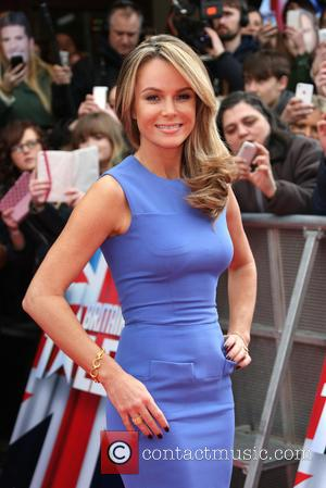Amanda Holden - Red carpet arrivals for London auditions of Britain's Got Talent 2014, held at the Eventim Apollo, Hammersmith...